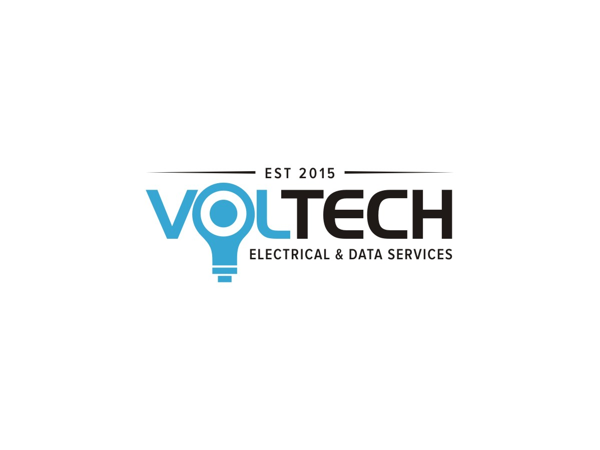 Modern Professionell Electrical Logo Design Fur Voltech