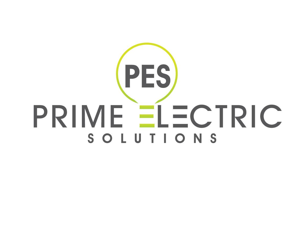 Bold Professional Electrician Logo Design For Prime