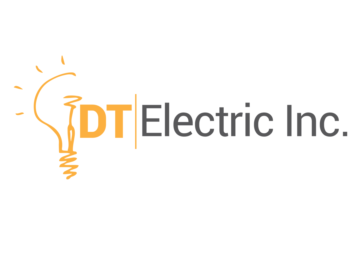 Contractor Logo Design For Dt Electric Inc By Graphicient