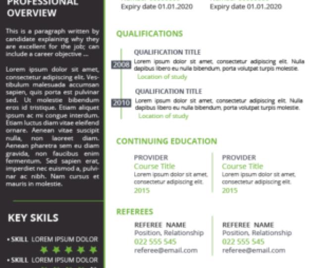 Resume Design By Kristina Andonoff