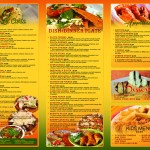 La Parrilla Mexican Restaurant 13 Disenos De Menu Para Una Empresa En United States