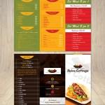 Elegant Modern Indian Restaurant Flyer Design For Spice Cottage By Designanddevelopment Design 14954269