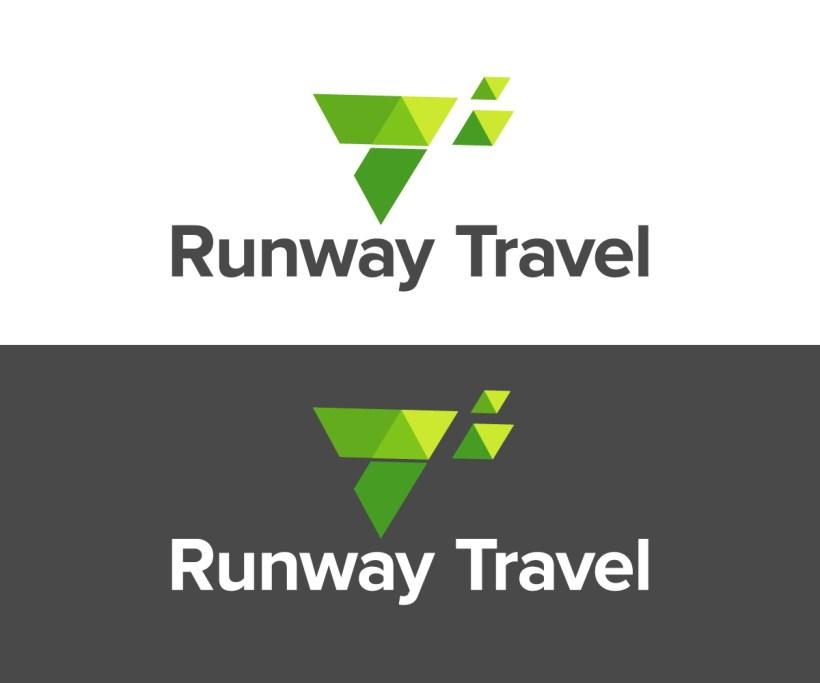 a113da2ede28 Bold Modern Travel Industry Logo Design For Runway By Jay