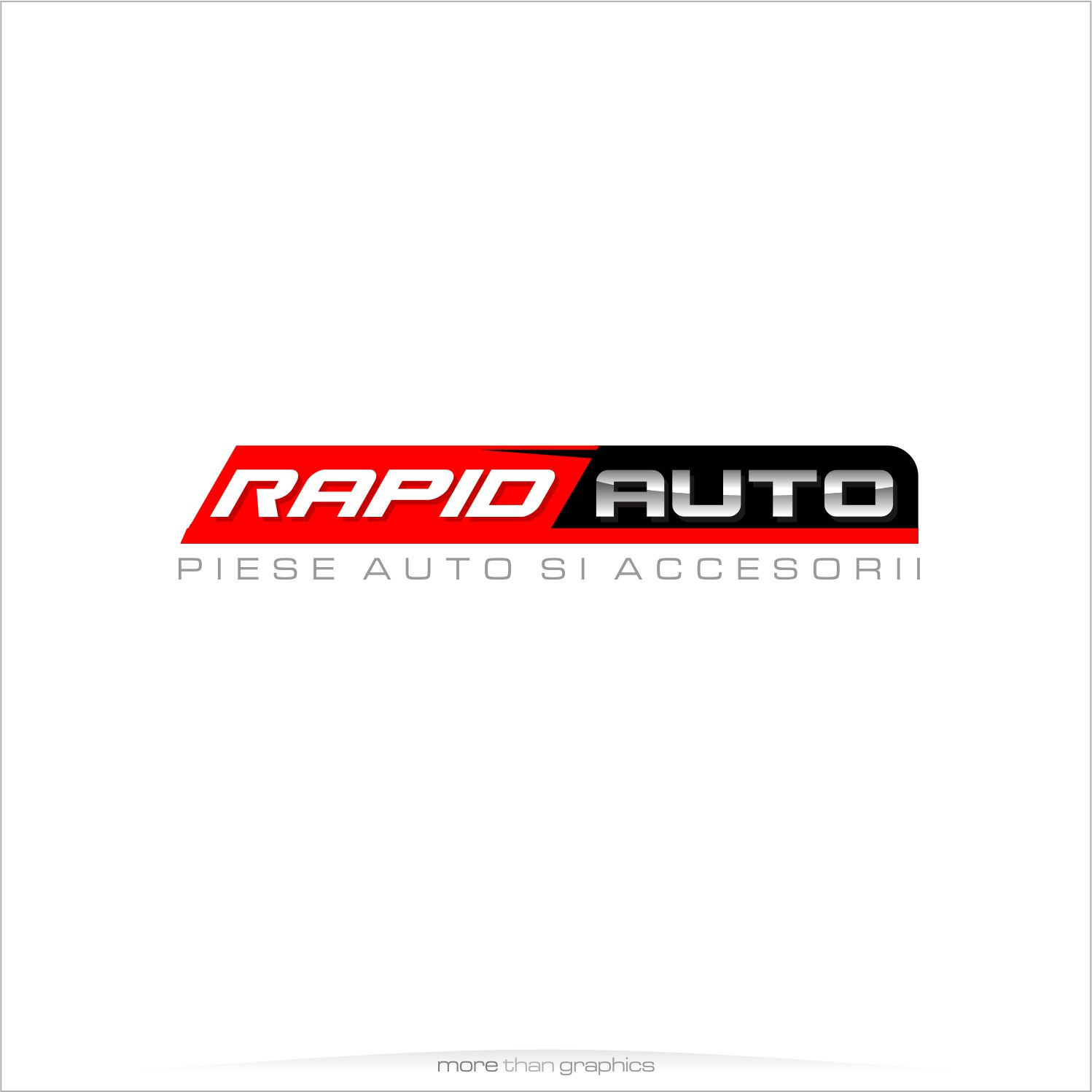 Masculine Bold Car Part Logo Design For Rapidauto By