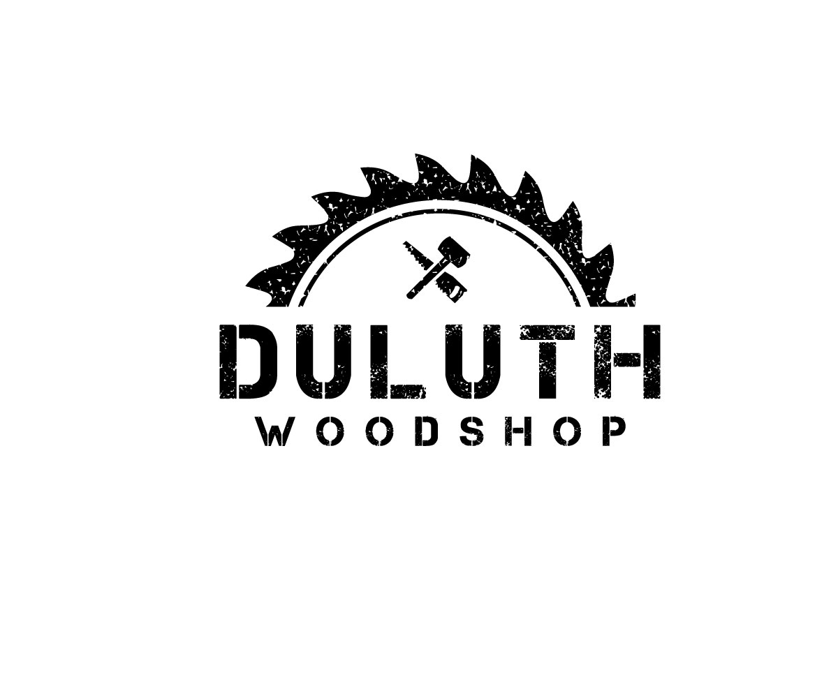 Traditional Masculine Woodworking Logo Design For Duluth