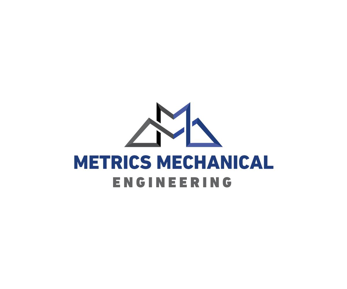 Serious Modern Mechanical Engineering Logo Design For