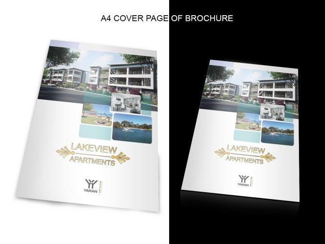 Elegant Colorful Apartment Brochure Design For Yaran Property