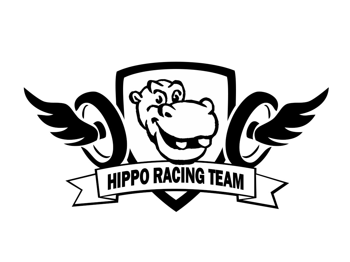 Graphic Design Logo Design For Hippo Racing Team By