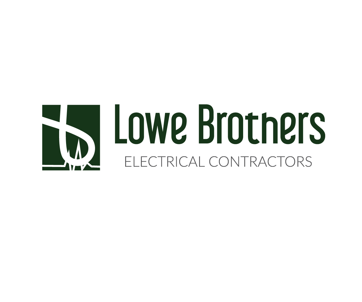 Serious Feminine Electrical Logo Design For Lowe