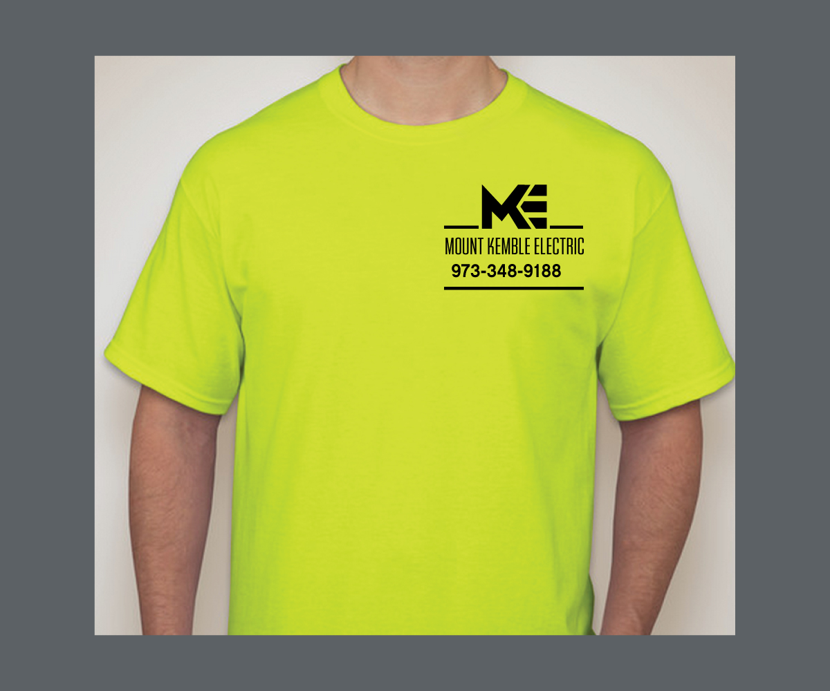 Contractor T Shirt Design For A Company By Saiartist