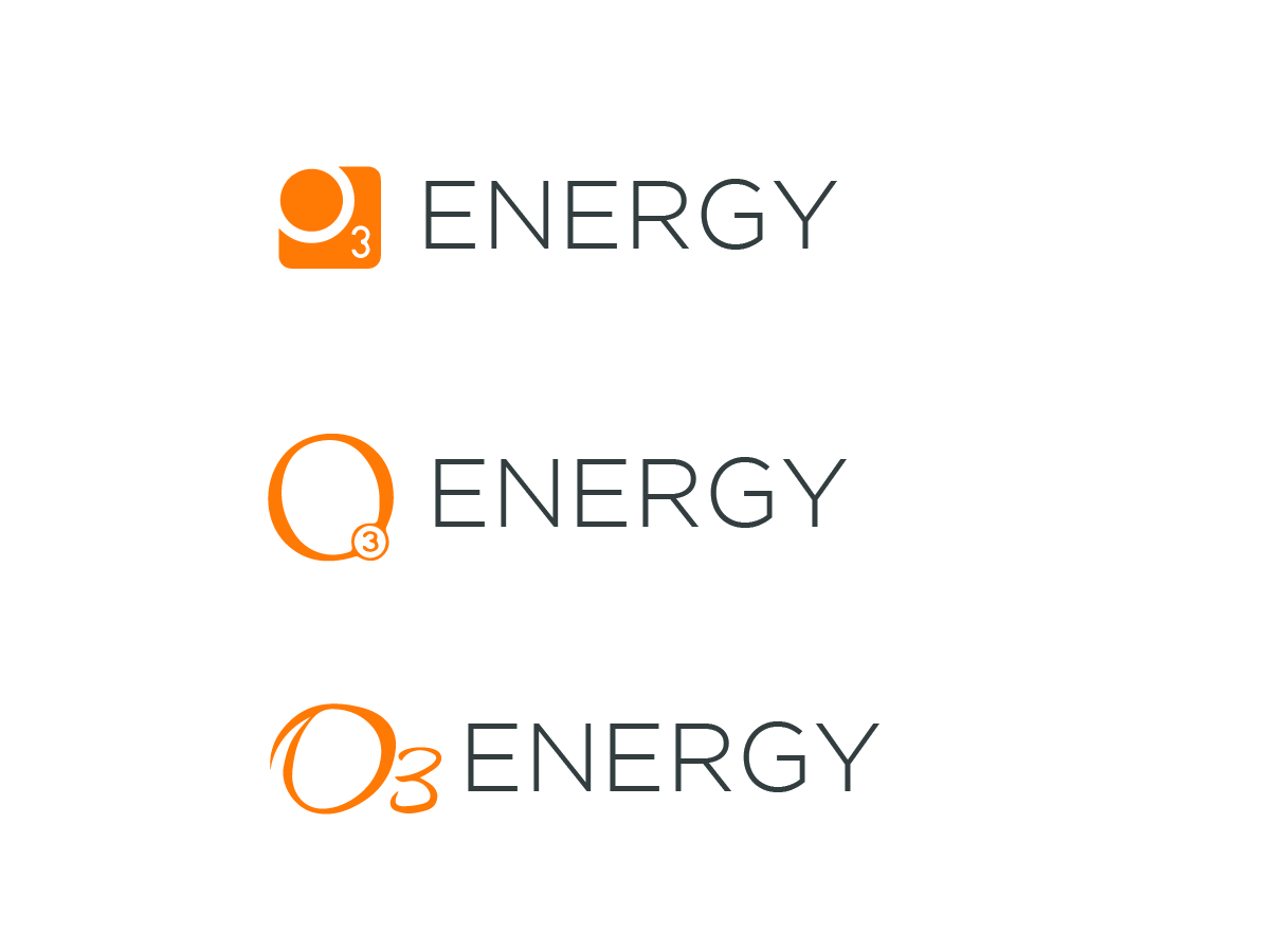 Bold Modern Electronic Logo Design For O3 Energy And O3