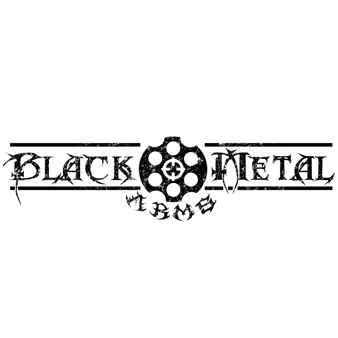 75 Serious Bold Artists Logo Designs For Black Metal Arms