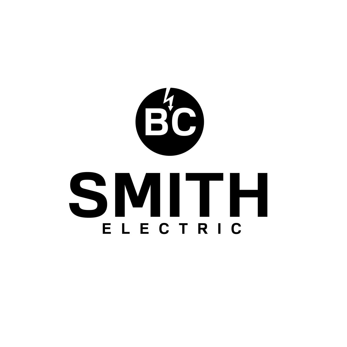 Serious Modern Electrical Logo Design For Bc Smith