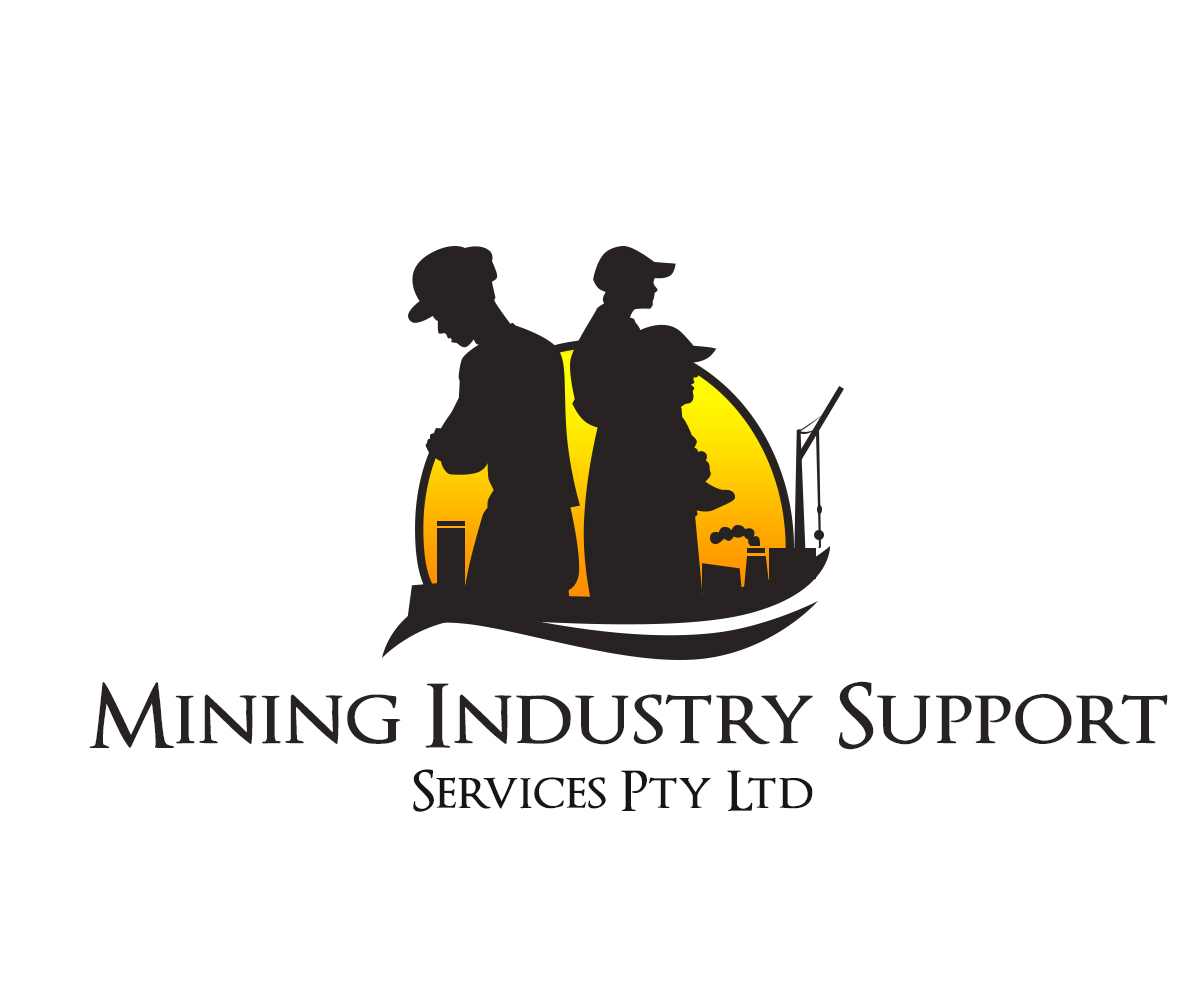 Mining Logo Design For Mining Industry Support Services