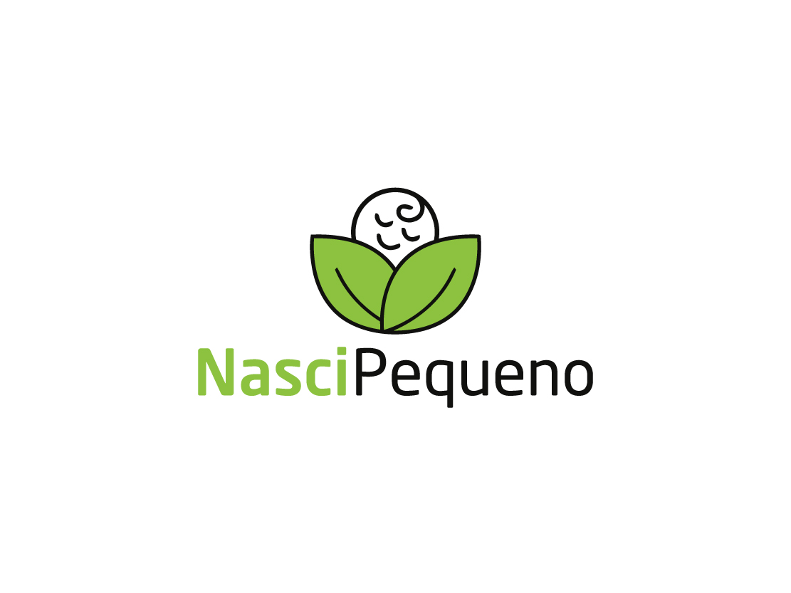 Modern Playful Clothing Logo Design For Nasci Pequeno By