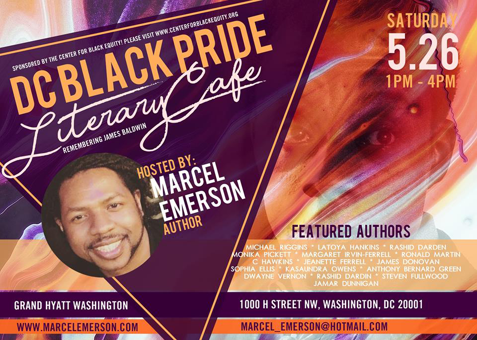 DC Black Pride Literary Café: Remembering James Baldwin