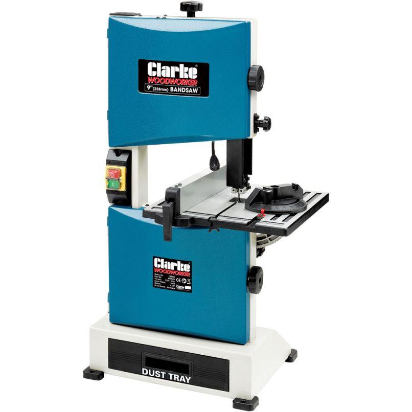 Clarke Cbs225 228mm 9 Band Saw 230v