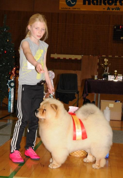 DCCK Juleskue 2015 Barn og hund maxi 1 Julie Maj Lindorff