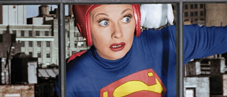 I Love Lucy Superman Episode To Air In Color – DC Comics Movie