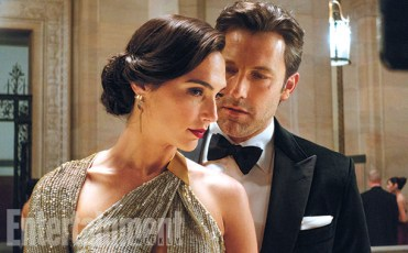 """Mr. Wayne, meet Ms. Prince Batman and Wonder Woman have a meeting of alter-egos as Bruce Wayne and Diana Prince parry and flirt at a high-society function. """"I love the fact that there was this Thomas Crowne Affair, Bond-y sexy scene that they wrote about two people who are pretending to be two different people who each know the secrets of the other person,"""" says Ben Affleck."""