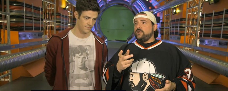 Kevin Smith Give a Behind the Scenes Tour of The Flash Set