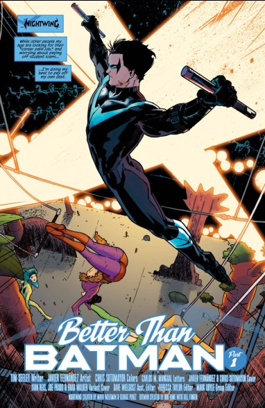 Nightwing 1 Splash