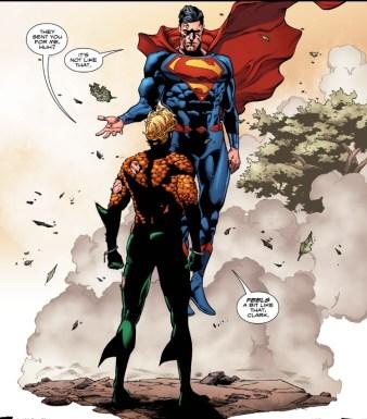 Aquaman 6 Supes Arrival