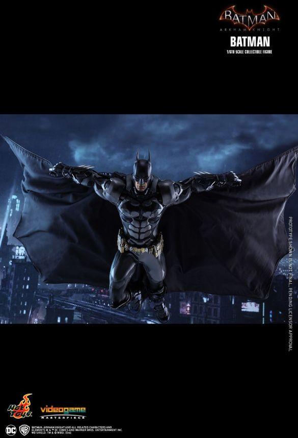 Arkham Knight sideshow statue 1/6 scale dc comics news