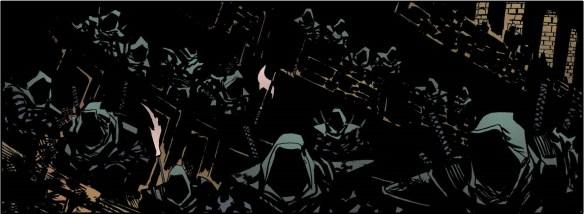 Ninja's in the shadows