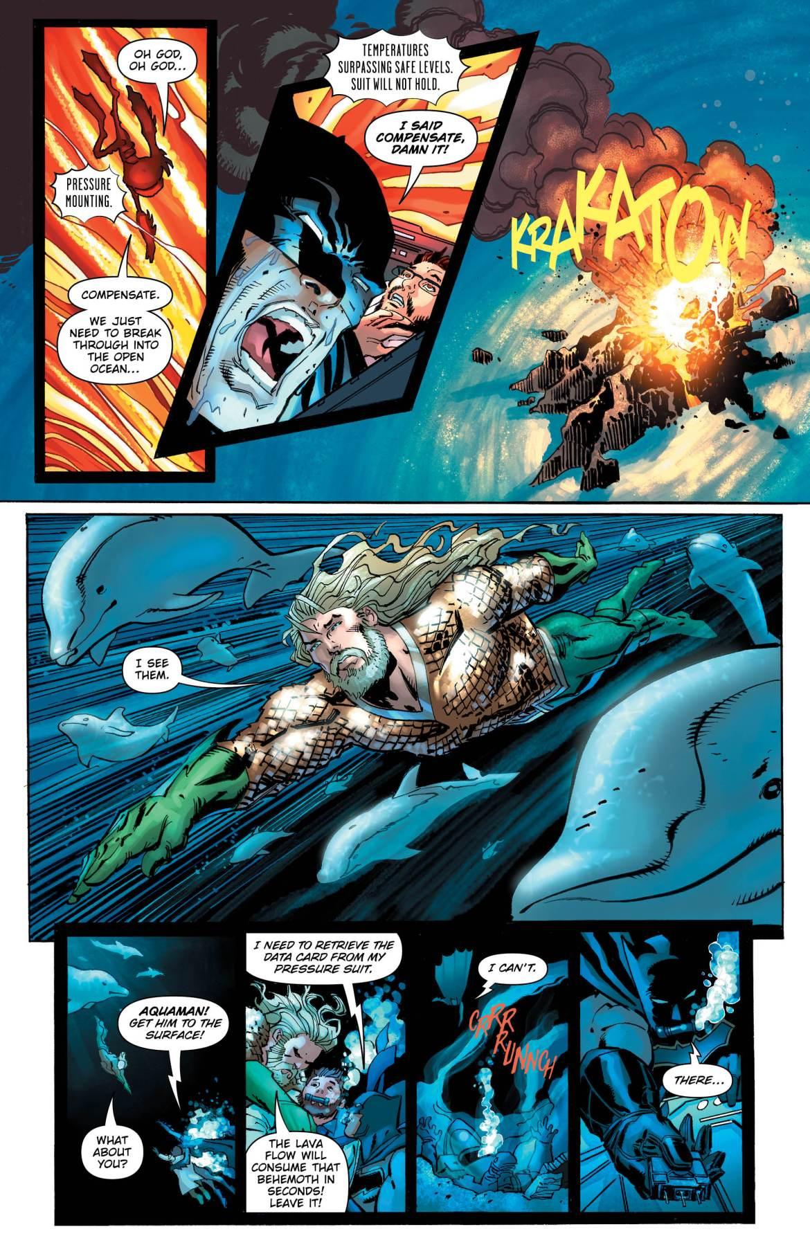 Dark Days The Forge 5 -DC Comics News