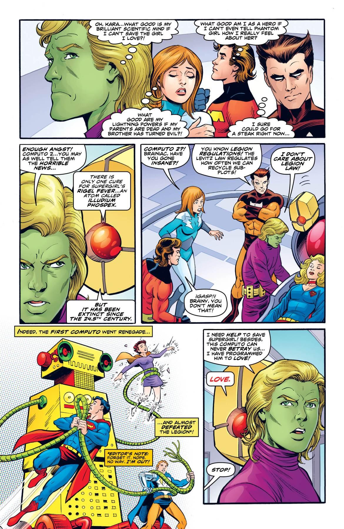 Legion of Super-Heroes Bugs Bunny 3 -DC Comics News