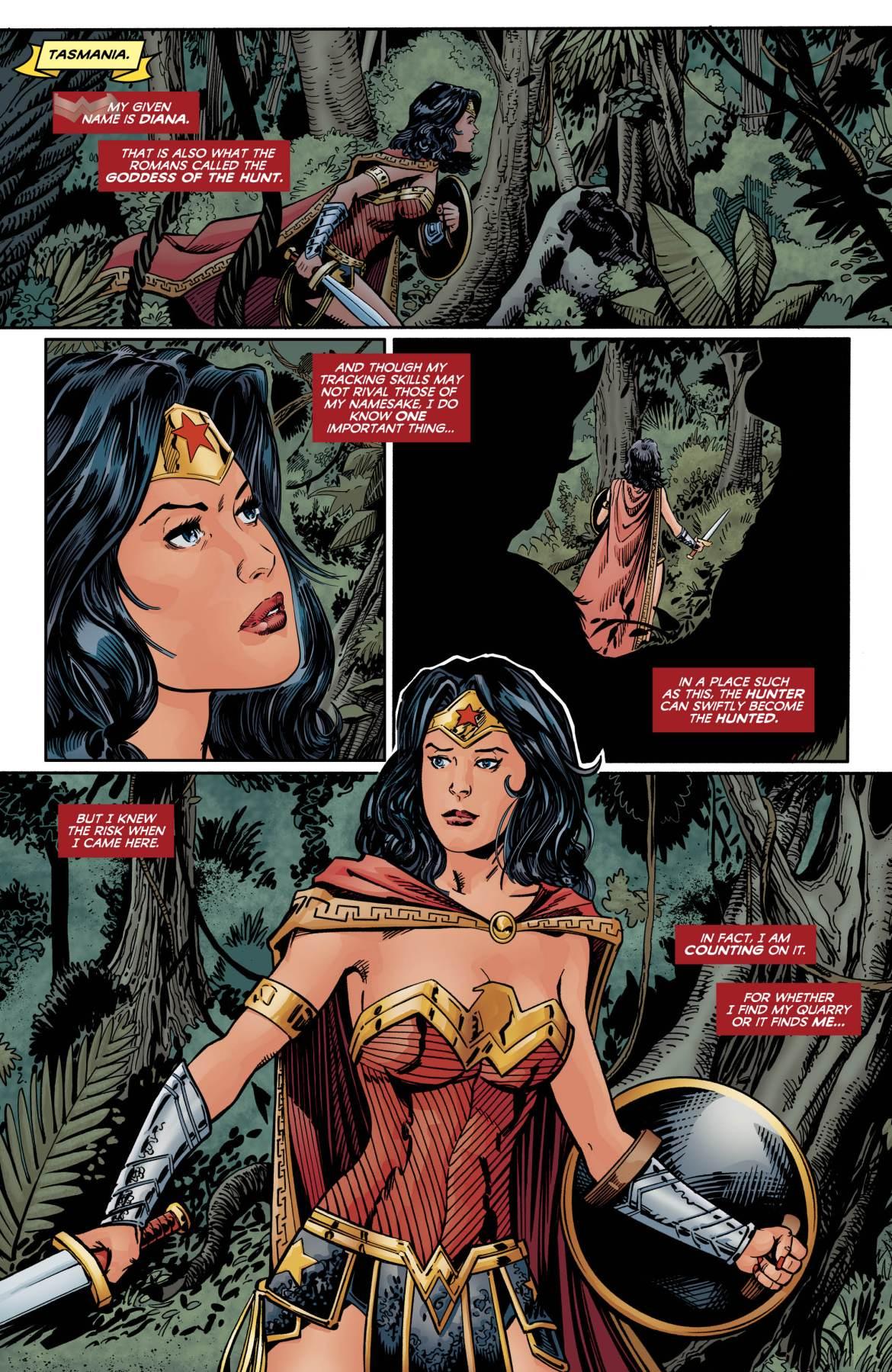 Wonder Woman Taz - DC Comics News
