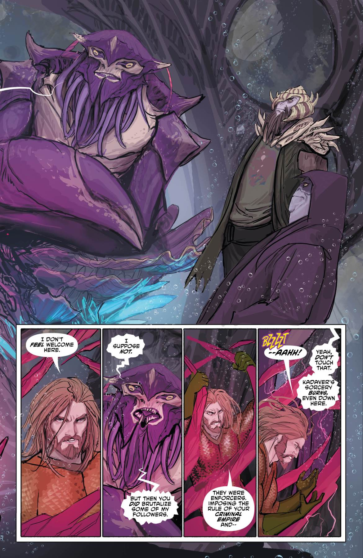 Aquaman Page 3 - DC Comics News