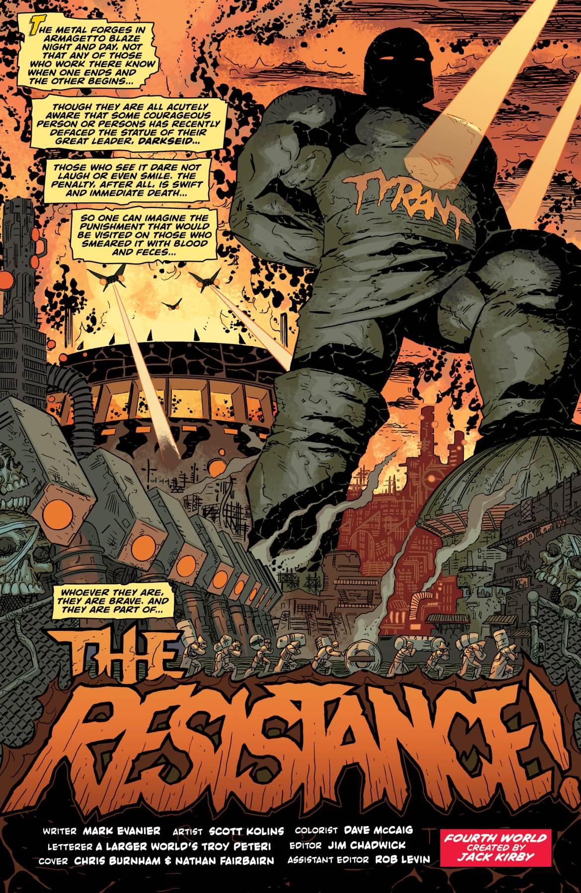 Jack Kirby Darkseid 1 - DC Comics News