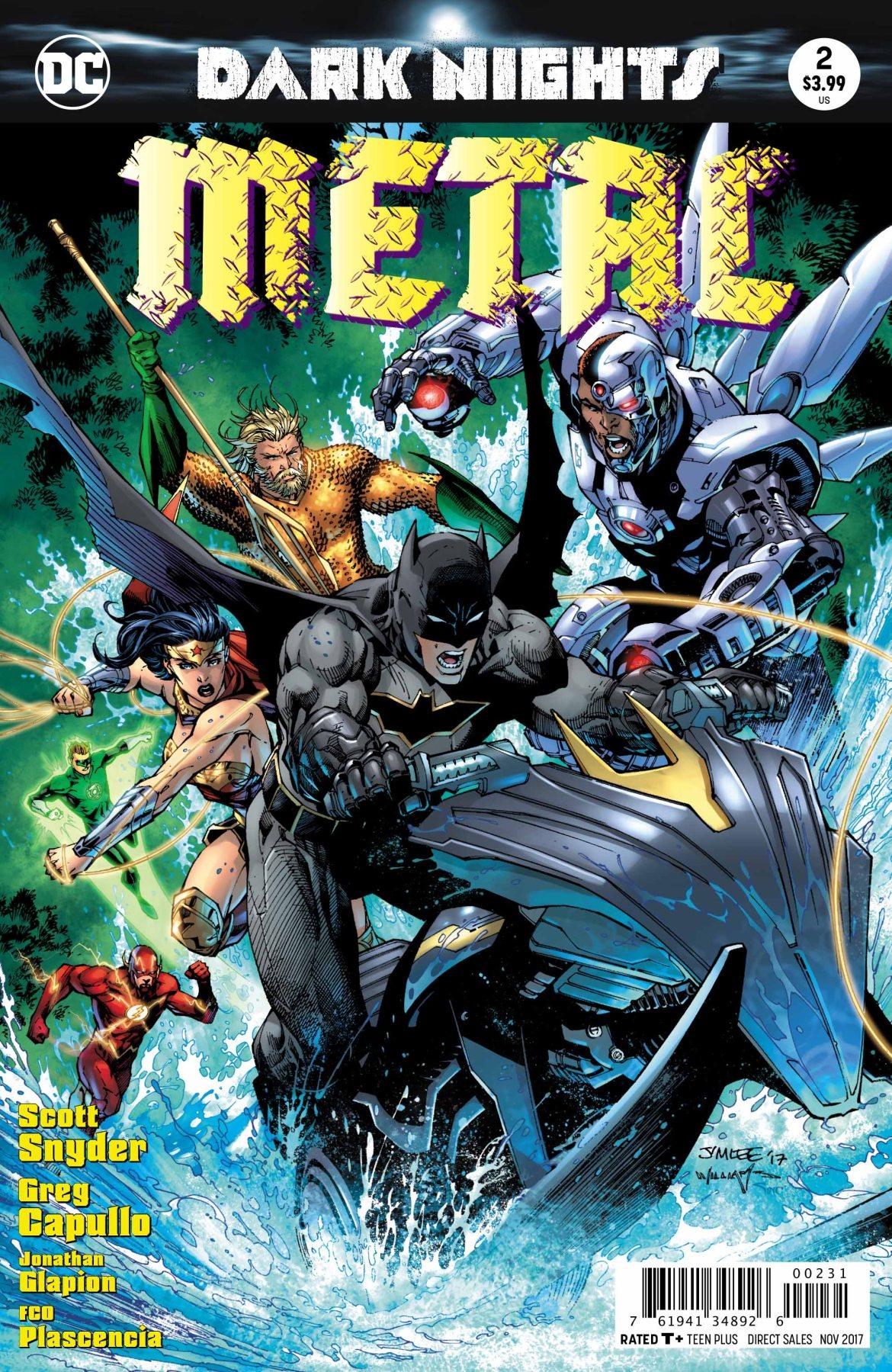 Metal Variant Cover - DC Comics News