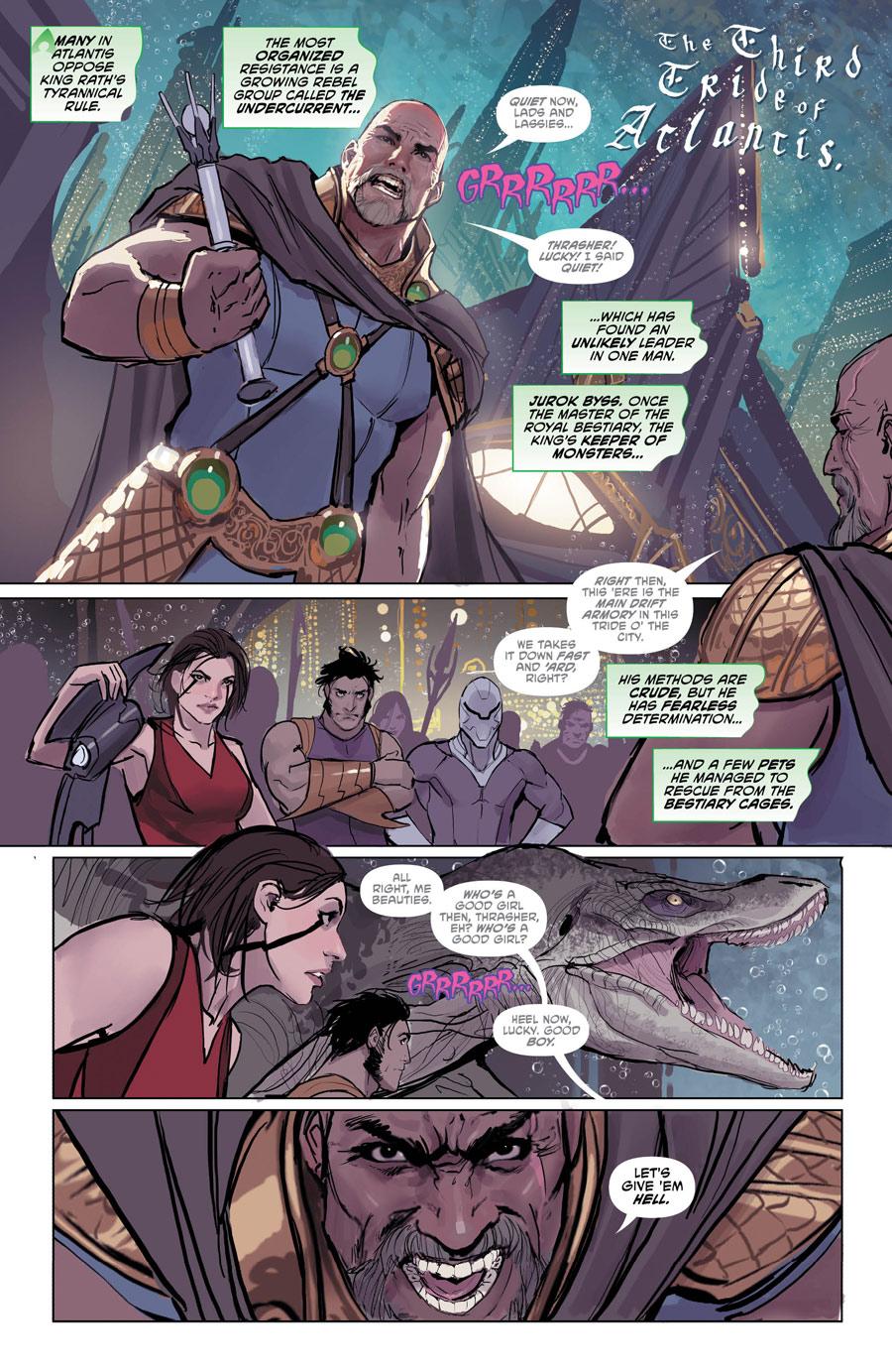 Aquaman 30 1 - DC Comics News