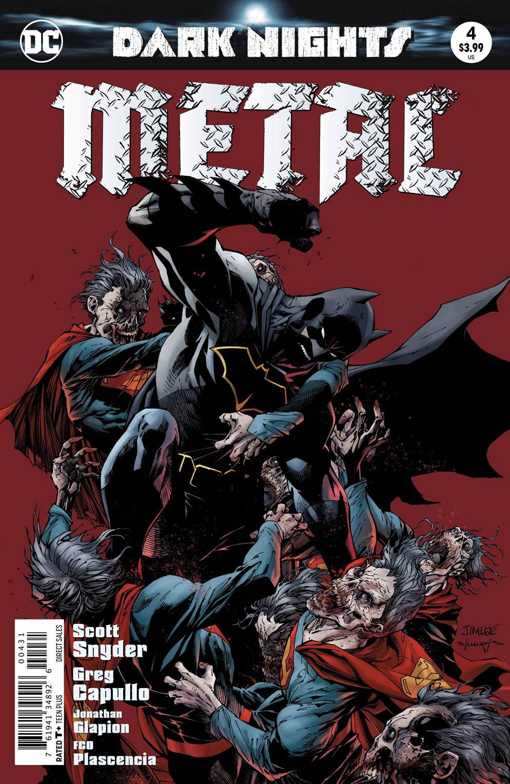 Dark Nights Metal 4 Variant - DC Comics News