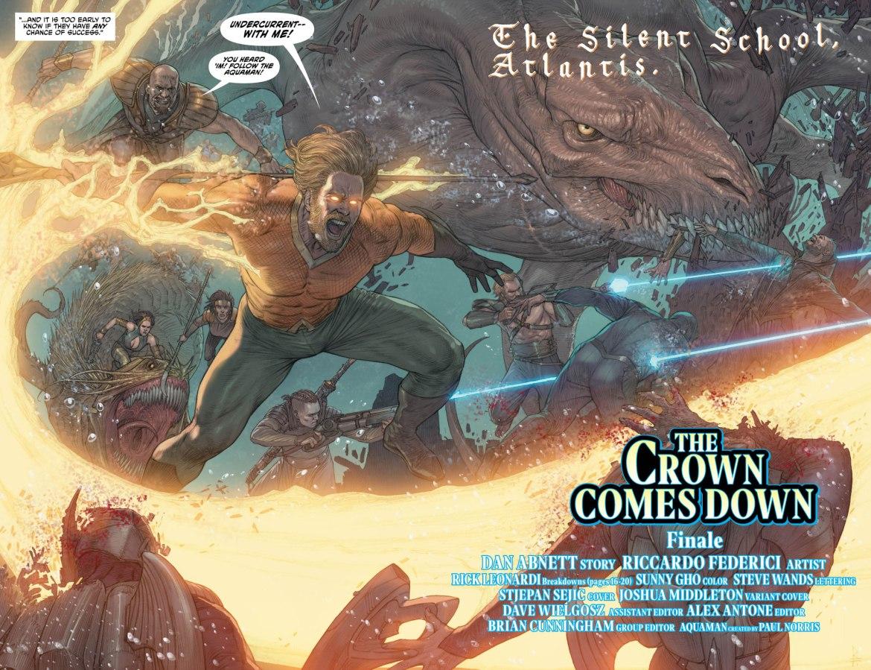 Aquaman 33 2-3 - DC Comics News