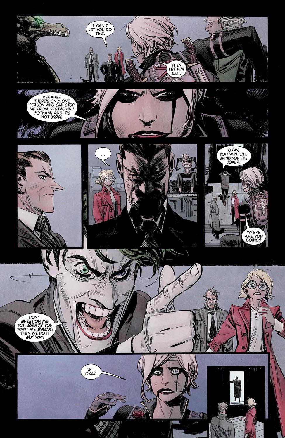 Batman White Knight 7_5 - DC Comics News