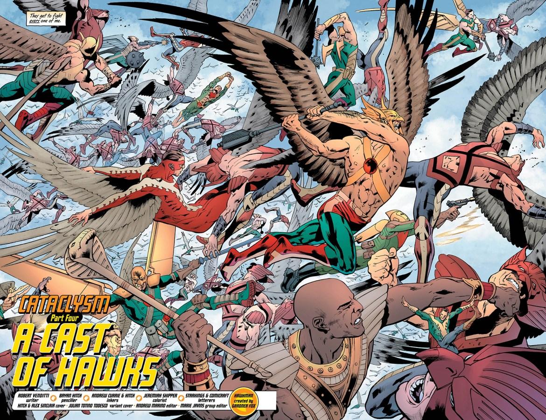 HAWKMAN 11_2 and 3 - DC Comics News