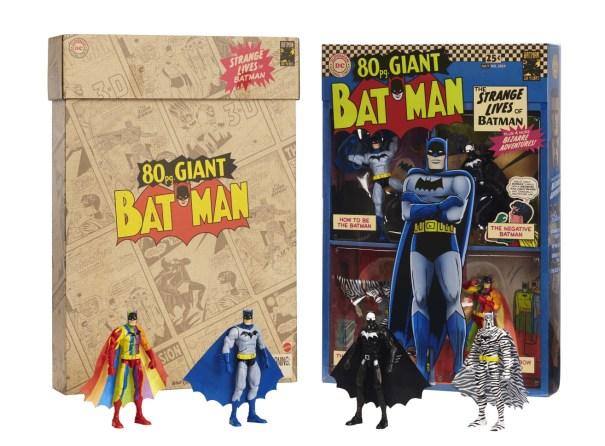 Strange Lives of Batman SDCC exclusive box