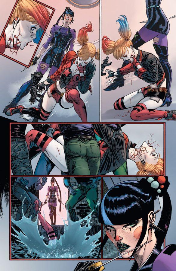 Punchline vs. Harley Quinn C
