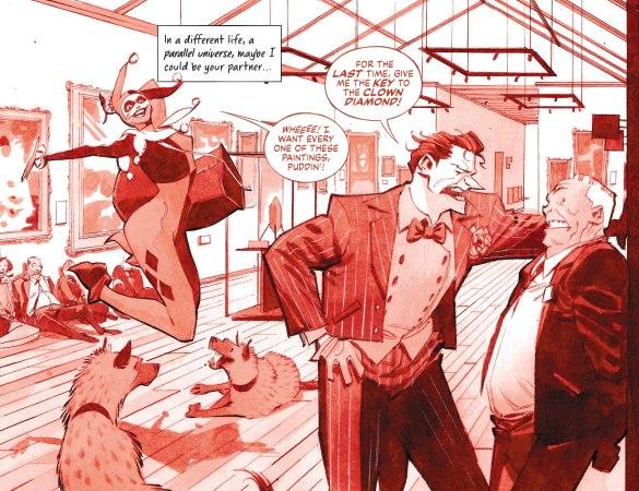 Harley Quinn: Black White Red