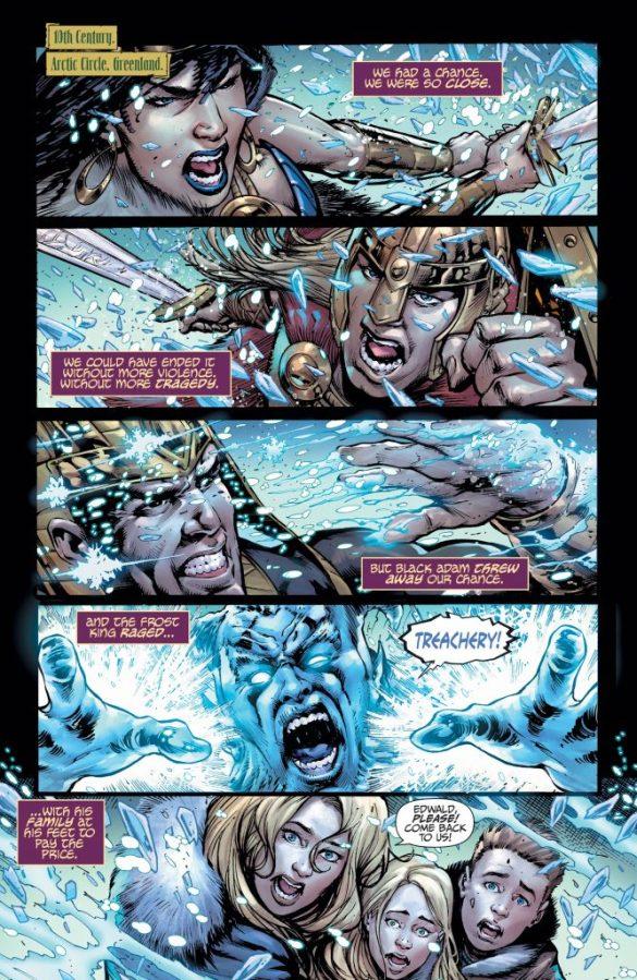 teen titans endless winter dc comics news
