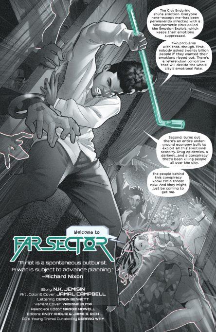 Far Sector 10 p1 DC Comics News