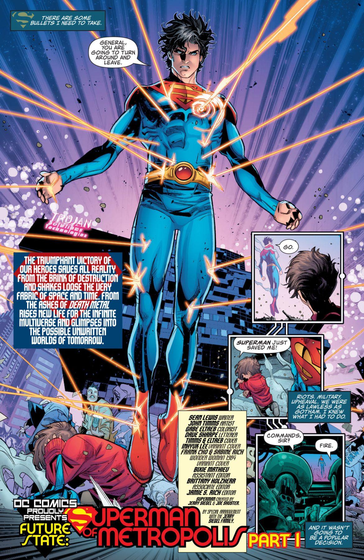 Superman of Metropolis #1 DC Comics News