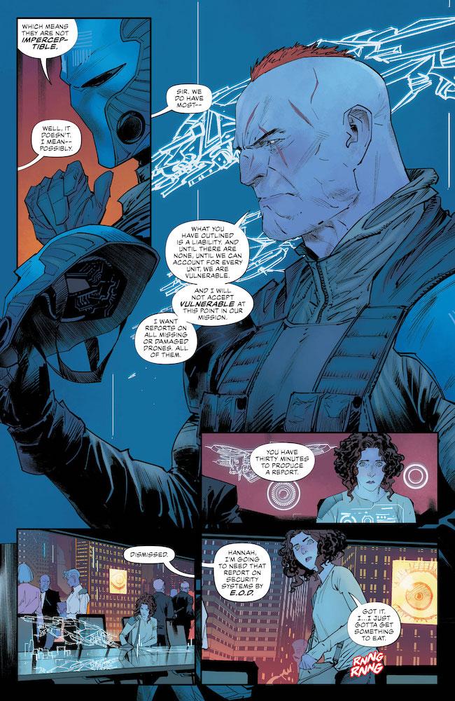 Meet Peacekeeper 01 DC Comics News Reviews