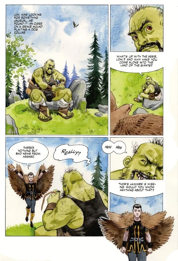 Review Norse Mythology #6 Dark Horse Comics Reviews DC Comics News