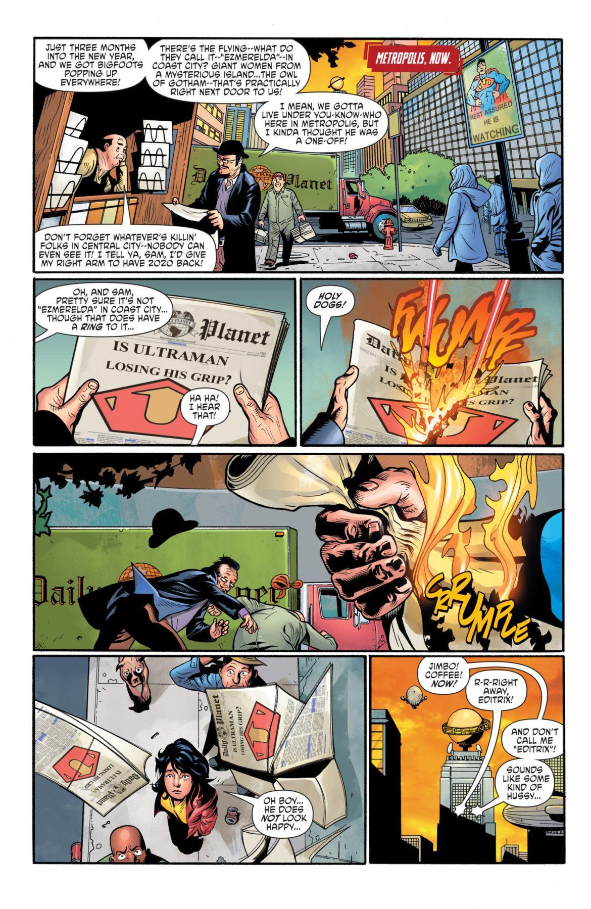 Crime Syndicate #1 DC Comics News