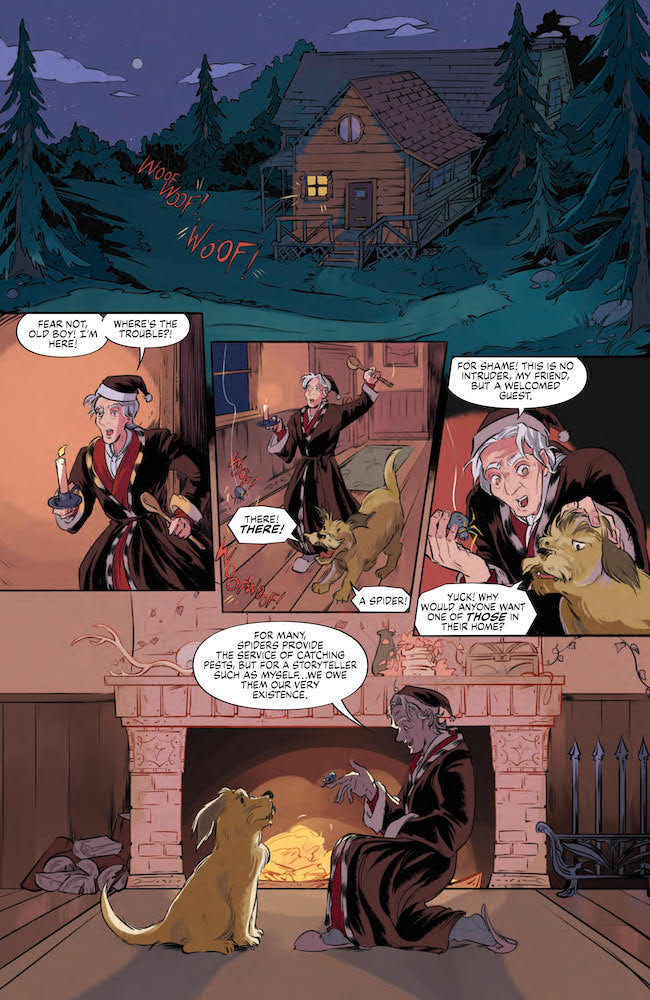 Welcome Guest Boom! Studios Review: The Storyteller Tricksters #1 (of 4)